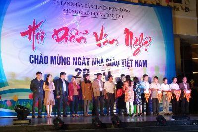 Hội diễn văn nghệ chào mừng kỷ niệm 35 năm Ngày Nhà giáo Việt Nam 20/11/1982-20/11/2017